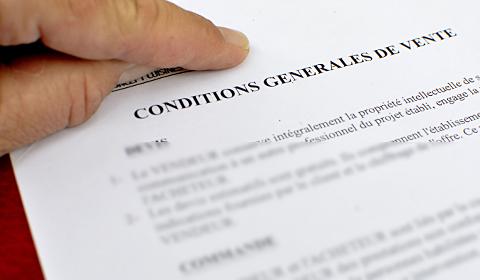 CGV Charte déontologie